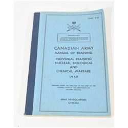 Canadian Army Training Manual