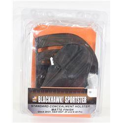 Blackhawk Sportster Holster Right Hand #13