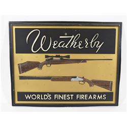 Weatherby Sign