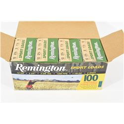"88 Rounds Remington 12 Ga. 2 3/4"" No. 8 Shot"