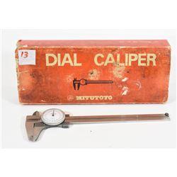 Vintage Mitutoyo Dial Caliper