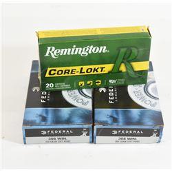 55 Rounds Box Lot Ammunition