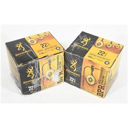560 Rounds Browing 22LR 40gr. RN