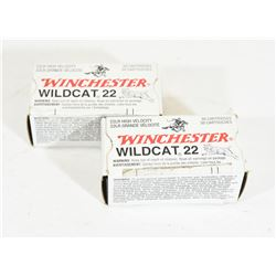 100 Rounds Winchester 22LR 40gr. RN