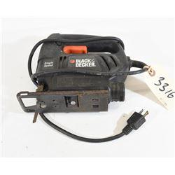 Black and Decker Jig Saw Model 7552