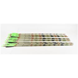 12 Easton 2117  XX75 Camo Hunter Arrows