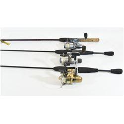 3 Fishing Rods