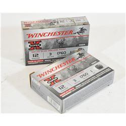 """10 Rounds Winchester 12ga x 3"""" Lead 1oz"""