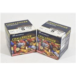 """50 Rounds Challenger .410 x 2 1/2"""" Lead #5 Shot"""