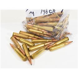 63 Rounds of Reloaded 7mm 140gr PSP