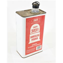 Empty 8lb IMR3031 Powder Can