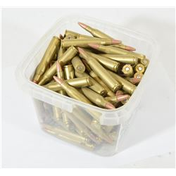 Approximately 100 Rounds of Reloaded 25-06 87gr