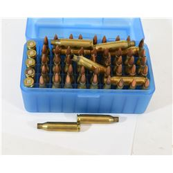 45 Rounds of Reloaded 243 Winchester in MTM Case