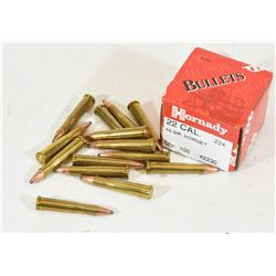 14 Rounds of  22 Hornet and Projectiles