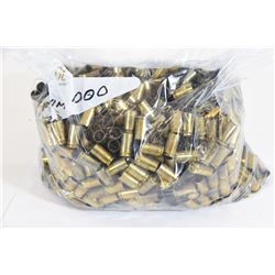 1000 Rounds 9mm Casings