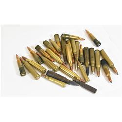 28 Rounds Of Mixed Rifle Ammo