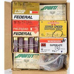 Box Lot Mixed Shotgun Ammunition