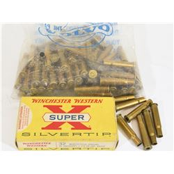 1.9 lbs of 32 Winchester Brass