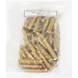 50 Pieces of 222 Rem Brass
