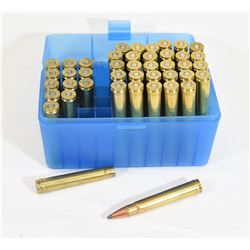 30 Rounds of 375 H&H Ammo and 13 Pieces of Brass