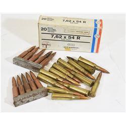 43 Rounds 7.62 X 54 R Ammunition