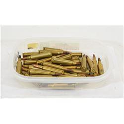 32 Rounds of 6.5mmx55 Ammunition