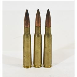 3 Rounds of 50BMG Ammunition