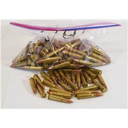 166 Rounds 7.62 X 39 Reloads