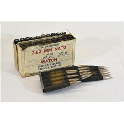 Box Lot Military Ammunition