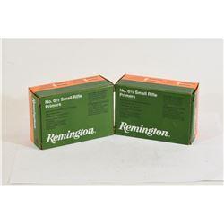 1800 Remington 6 1/2 Small Rifle Primers