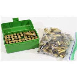 50 Rounds of 38 Special and 100 Pieces of Brass
