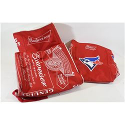 3 Collector Budwiser Bags