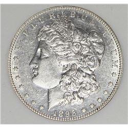 1895-S MORGAN SILVER DOLLAR