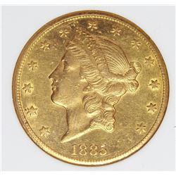 1885-CC $20 GOLD
