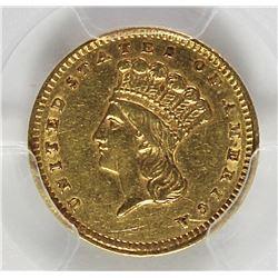1856 GOLD DOLLAR