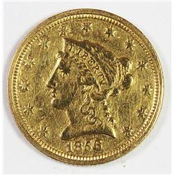 1856-C $2.50 GOLD LIBERTY