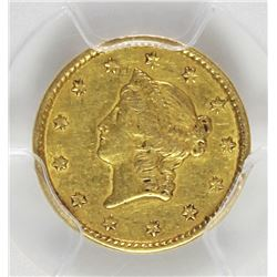 1850 GOLD DOLLAR