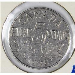 1926 FAR 6 CANADA NICKEL
