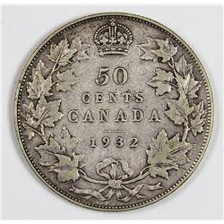 1932 CANADA HALF DOLLAR