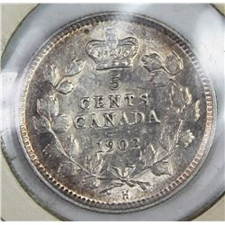 1902-H SMALL H CANADA NICKEL