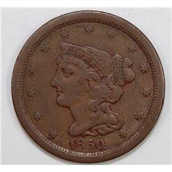 1850 HALF CENT