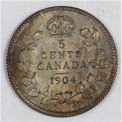 1904 CANADA NICKEL