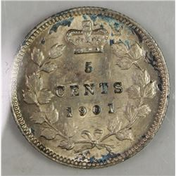 1901 CANADA NICKEL