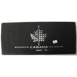 STERLING SILVER 2000 CANADA MILLENNIUM