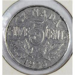 1925 CANADA NICKEL