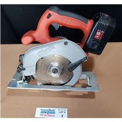 Milwaukee Cordless 18V Skill Saw *Tested and Works*