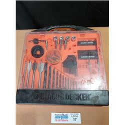 Black and Decker Drill Bit and Driver Set