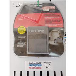 Crasftsman Universal Radio Control Conversion kit for Garage Door opener