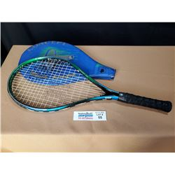 Used Concept Black Knight Tennis Raquet with Case