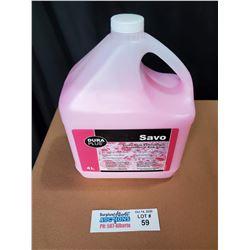 Dura Plus Savo Economical Pink Soap 4L